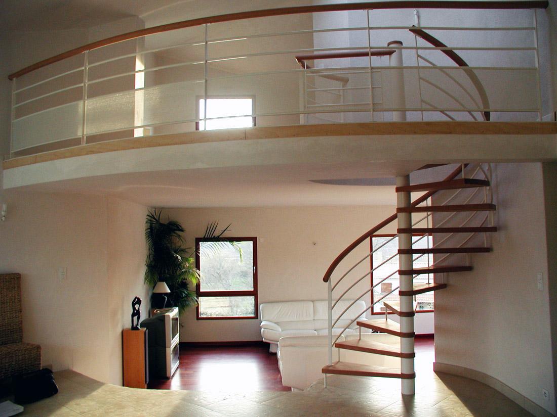 Tecabois votre partenaire escalier tude fabrication pose - Escalier haut de gamme ...