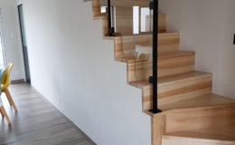 Escalier 1/4 Tournant FRENE OLIVIER
