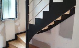 Escalier 1-4T en HEVEA