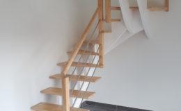 Escalier TECABOIS – Crémaillère recentrée