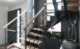 Escalier TECABOIS – Crémaillères recentrées